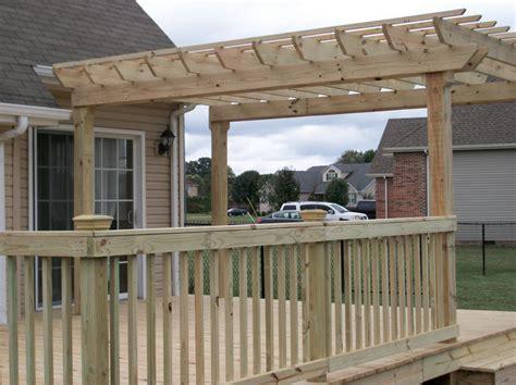 pergolas for decks decks patios pergolas southern exposure sunrooms