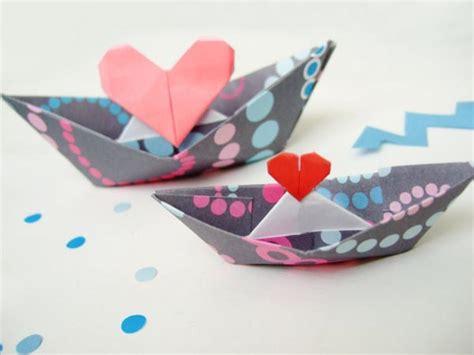 origami san boat barcos de papel para manualidades con ni 241 os escarabajos