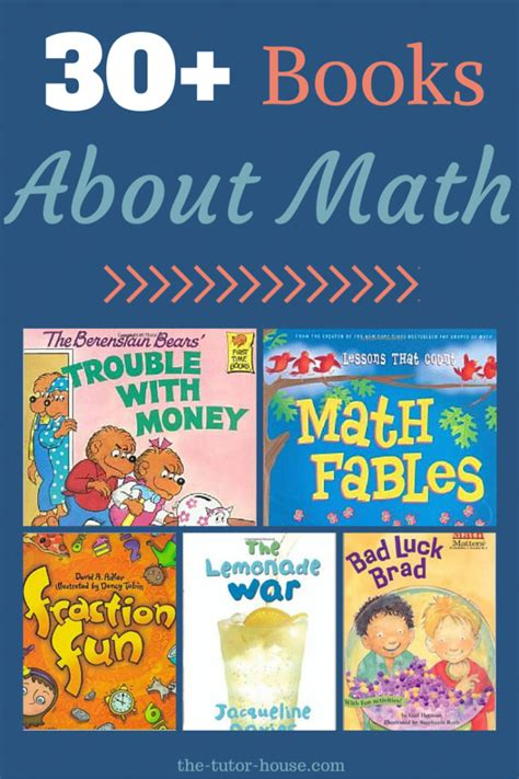 picture books for teaching math books about math
