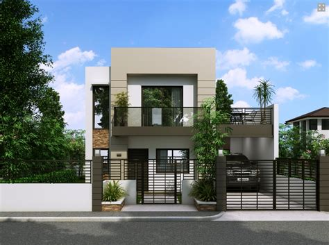 small contemporary house designs house with small balcony amazing architecture