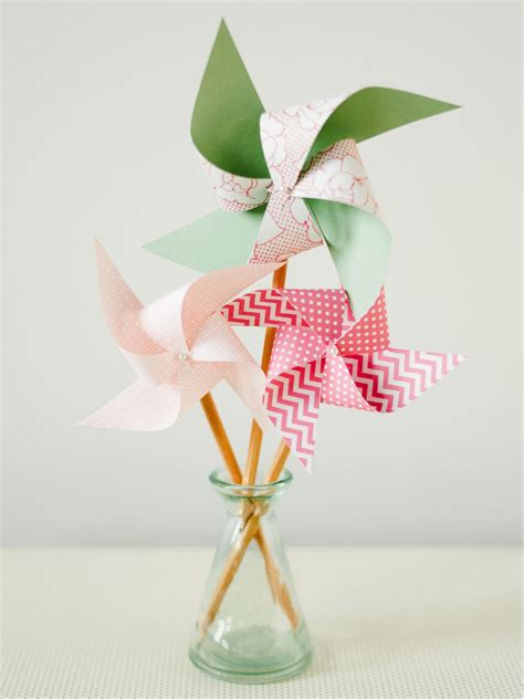 pinwheel craft for craft easy pencil pinwheel hgtv