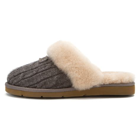 cosy knit ugg slippers ugg australia s cozy knit slippers ug 9423229