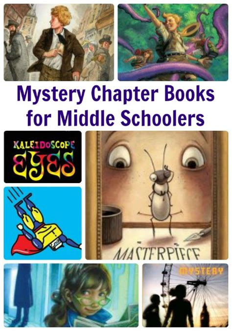 mystery picture books for mystery books for middle schoolers