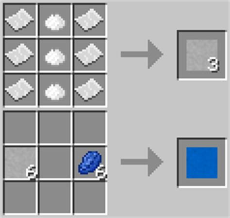 crafting recipe for paper mineralogy mod minecraft mods mapping and modding