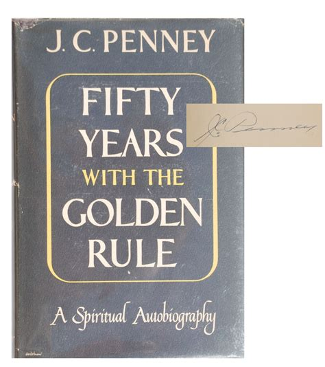 the golden rule picture book lot detail j c signed golden rule book