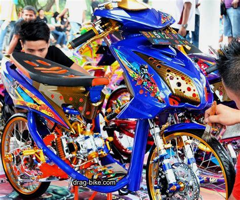 Modifikasi Mio Soul Drag by Foto Modifikasi Motor Drag Mio Soul Modifikasi Yamah Nmax