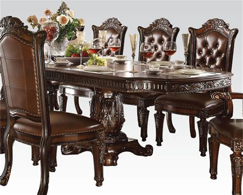 acme furniture dining room set dining set vendome cherry by acme furniture ac62000set