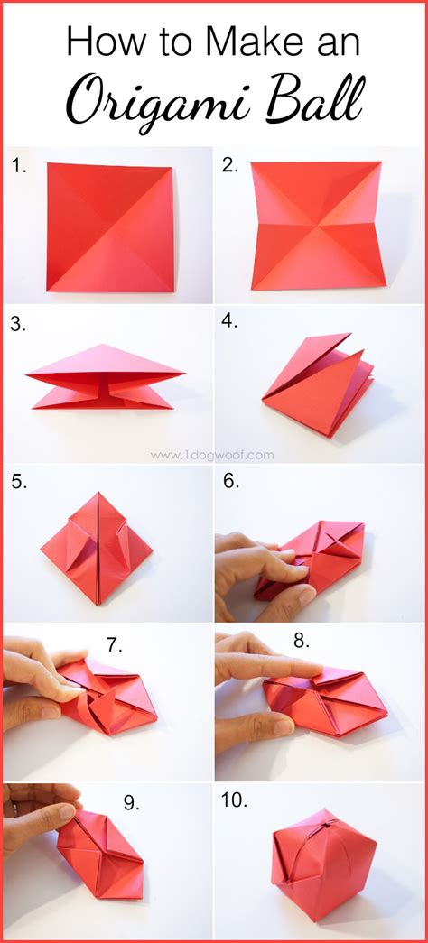how to make an origami balloon origami apple favor