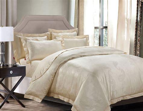 beige bedding sets luxury 4 jacquard bedding sets jazz beige