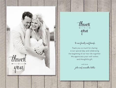 how to make wedding thank you cards 21 wedding thank you cards free printable psd eps