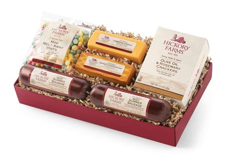 hickory farms gift baskets hickory farms delicious treats giving back