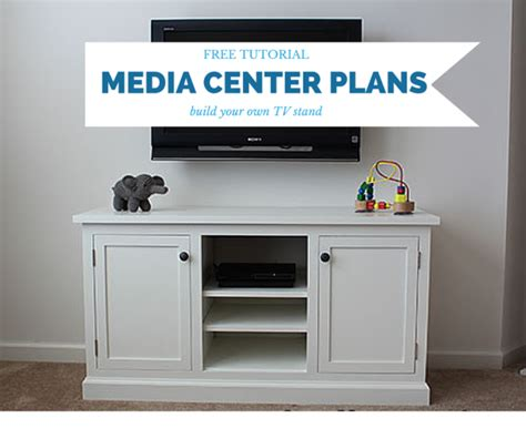 woodworking centre diy media center plans woodworking plans free