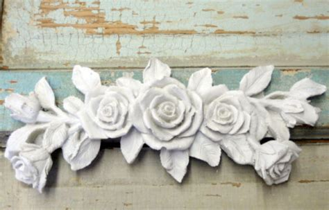 shabby chic wood appliques shabby wood appliqu 233 to create new look on