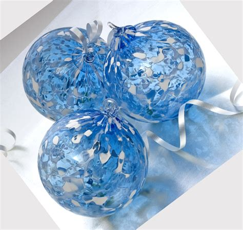 handblown glass blown glass ornaments