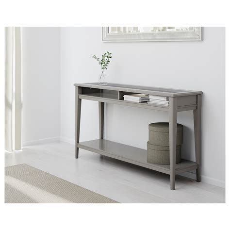 console or sofa tables liatorp console table grey glass 133x37 cm ikea
