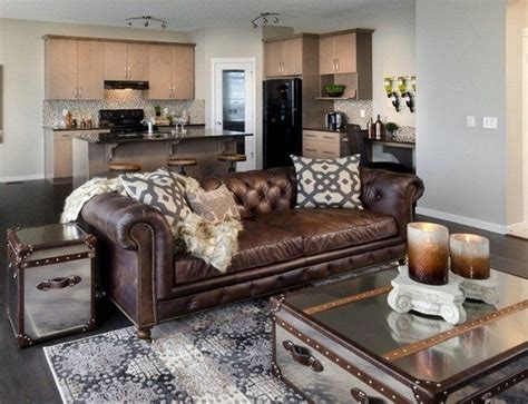 brown sofas in living rooms 20 beautiful living rooms with mirrored furniture