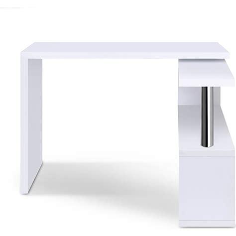 white desk with bookshelf office corner computer desk with bookshelf in white buy