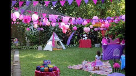 outside garden ideas birthday garden decoration ideas