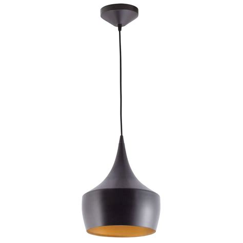 ceiling hanging lights globe electric modern collection 1 light rubbed bronze