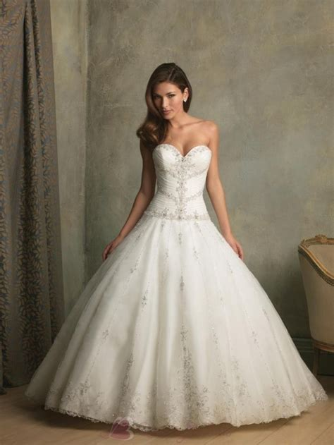 beaded wedding gowns beaded gown wedding dress with sweetheart