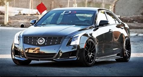 Cadillac Sports Sedan by 2013 Cadillac Ats Sports Sedan Gets Its Tuning