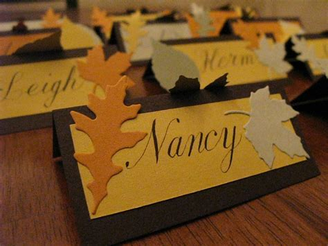 make place cards place card
