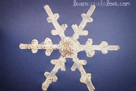 snowflake craft for snowflake craft