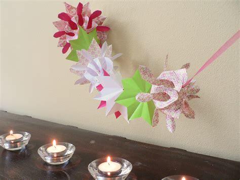 origami garland craft origami paper 171 embroidery origami