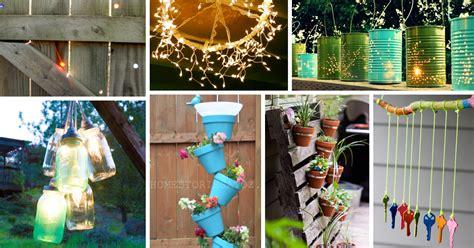 Cheap Outside Wedding Decorations by 40 Outstanding Diy Backyard Ideas