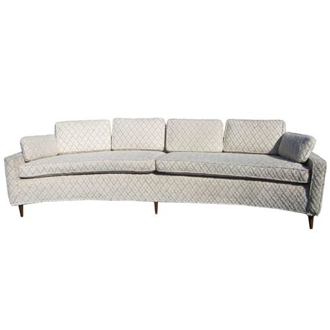 curved sofa for sale vintage harvey probber style curved sofa for sale at 1stdibs
