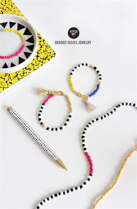 bead bracelets diy 187 my diy beaded tassel jewelry
