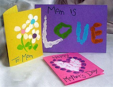 mothers day cards toddlers can make cart 245 es feitos carimbo dos dedinhos pra gente mi 250 da