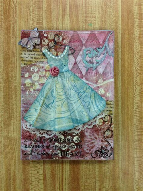 Canvas Decoupage Project Make Me Something Sweet Crafts