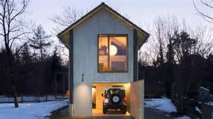 small house in small wooden house in bavaria germany