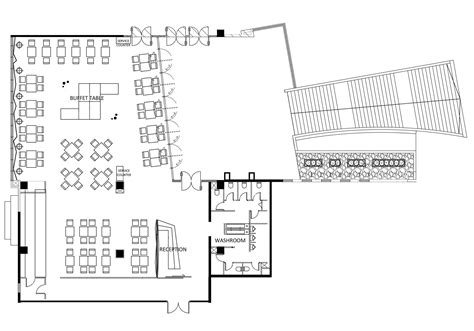 restaurant floor plan with dimensions gallery of yue restaurant panorama 21