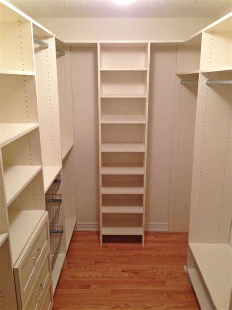 narrow walk in closet walk in closet after traditional closet toronto