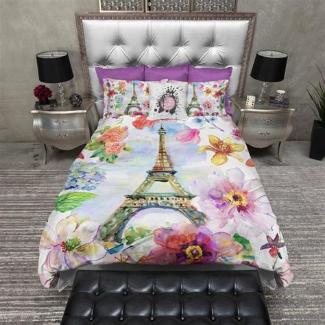 eiffel tower comforter sets in eiffel tower duvet bedding sets ink and rags