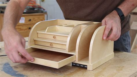 woodworking plans desk organizer desk organizer with charging station woodworking for
