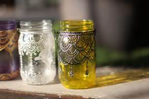 decorate jars for 5 spaces to decorate with our painted jar lanterns