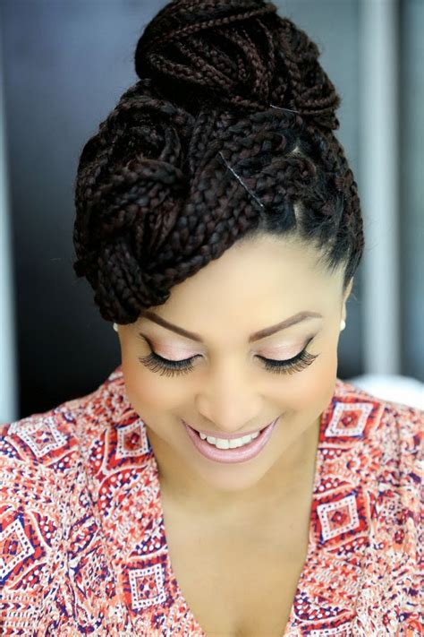 abuja hair style how to style single braids and pix of different hot styles