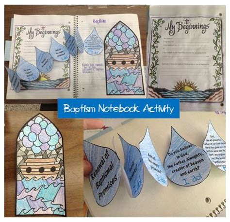 baptism crafts for look to him and be radiant reviewing the sacraments baptism