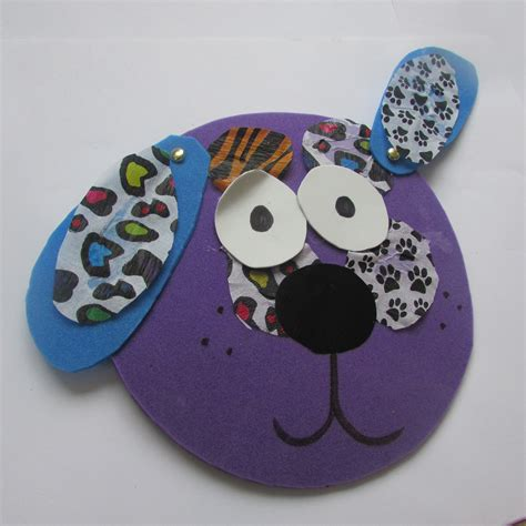 foam crafts for foam animal faces craft ideas for