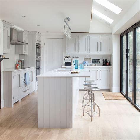 island style kitchen white shaker style kitchen decorating ideal home