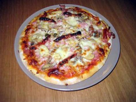 recette de pizza vite fait bien fait