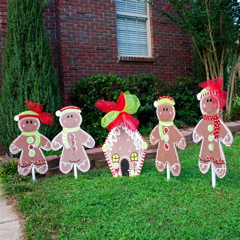 yard decoration yard decor gingerbread by