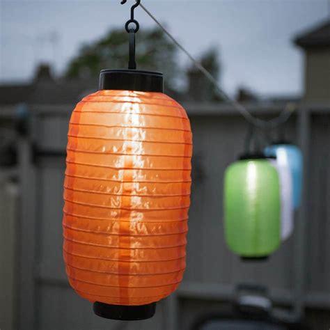 orange solar string lights string lights lantern orange ellipse solar led