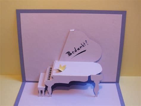 how to make a pop up card step by step piano pop up card 183 how to make a pop up card 183 papercraft