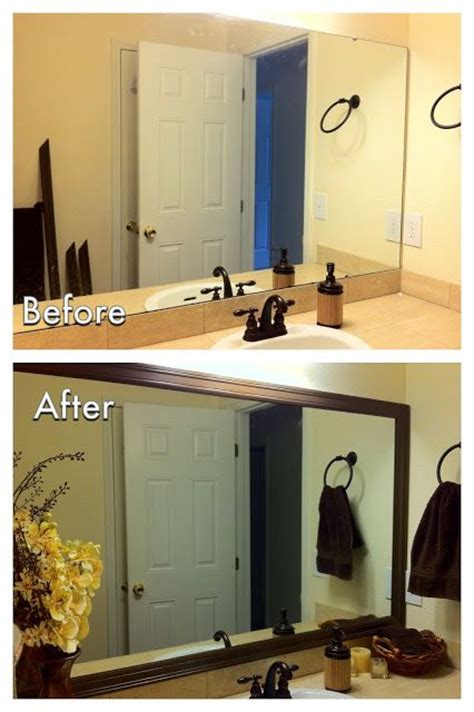 bathroom mirrors with frames top 25 ideas about frame mirrors on framing a