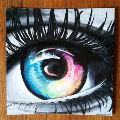 acrylic paint eye 127 best images about on eye painting