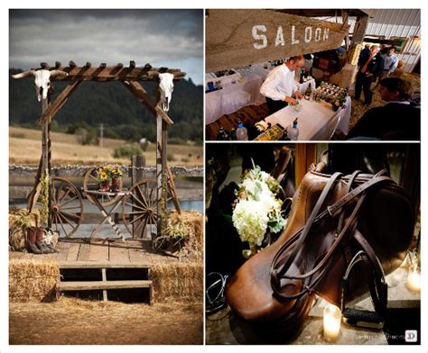 western decorations d 233 coration mariage western country chic